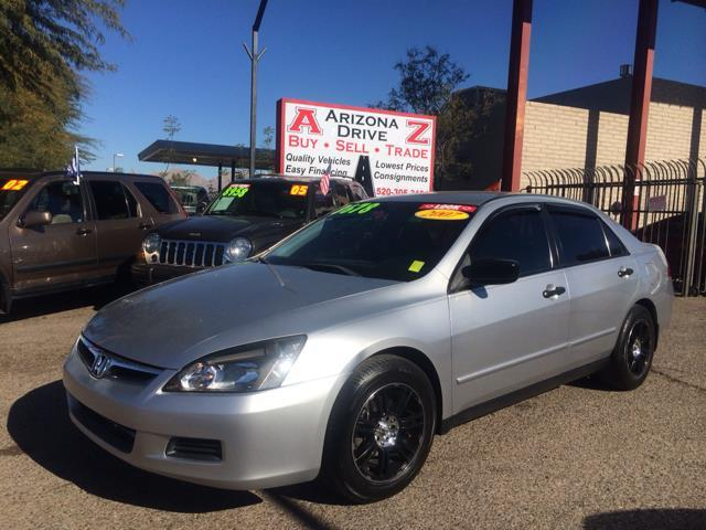 2007 HONDA ACCORD VP SEDAN AT white abs brakesair conditioningamfm radioanti-brake system 4-w