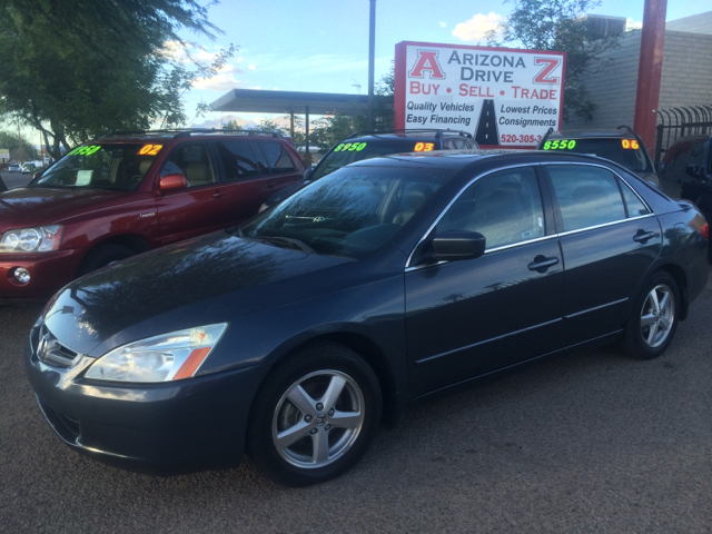 2005 HONDA ACCORD EX WLEATHER 4DR SEDAN 24L 4CY gray this vehicle is fully-loaded w leather he