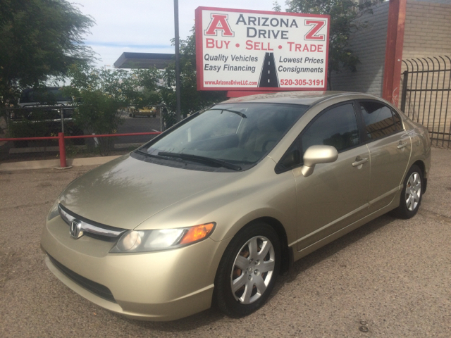 2007 HONDA CIVIC LX 4DR SEDAN silver 2-stage unlocking - remote abs - 4-wheel air filtration an