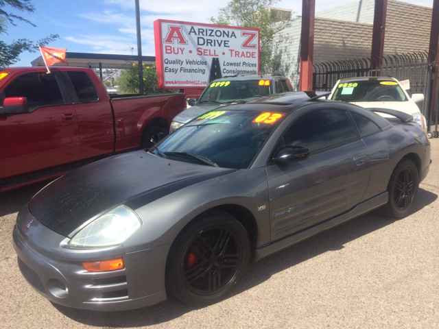 2003 MITSUBISHI ECLIPSE GTS 2DR HATCHBACK gray abs - 4-wheel alloy wheels cd changer center con