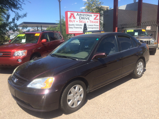 2001 HONDA CIVIC EX 4DR SEDAN purple this vehicle very well maintained with manuel transmission an