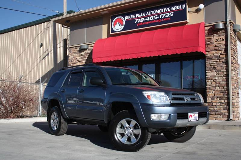 toyota 4runner for sale in colorado springs co. Black Bedroom Furniture Sets. Home Design Ideas