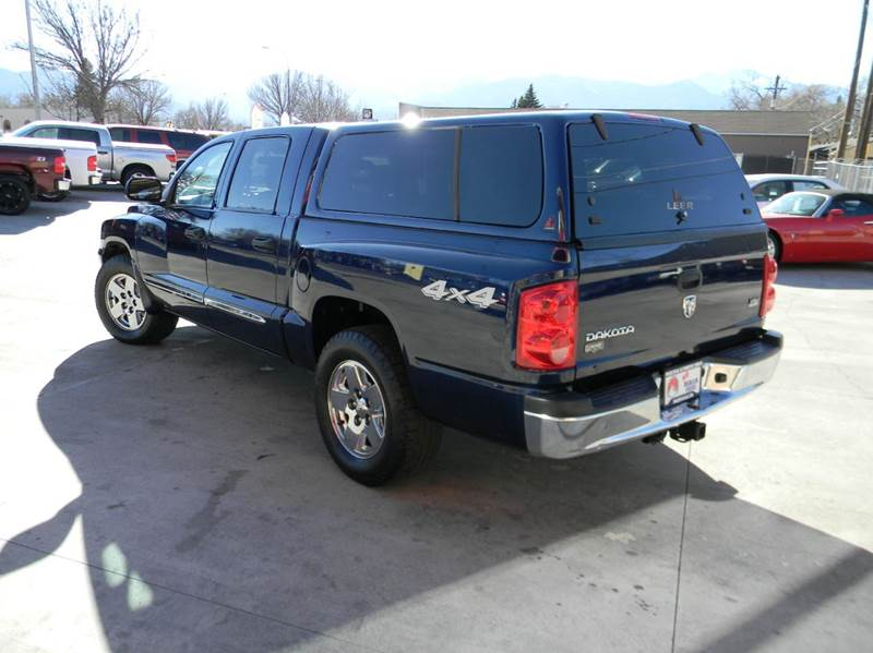 2005 dodge dakota laramie 4dr quad cab 4wd sb in colorado. Black Bedroom Furniture Sets. Home Design Ideas