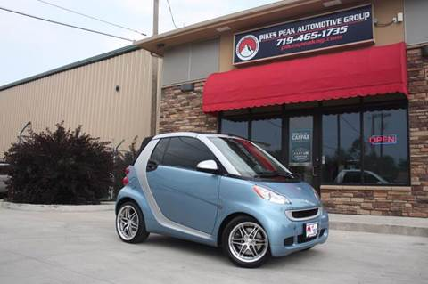 2012 Smart fortwo for sale in Colorado Springs, CO