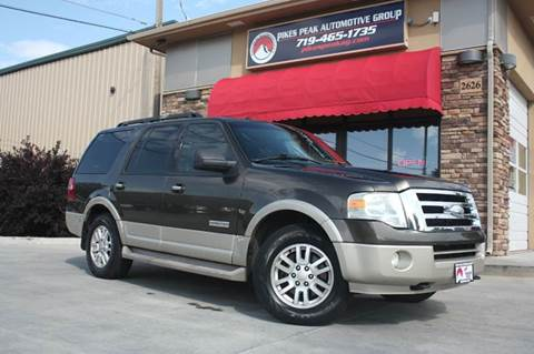 Ford expedition for sale in colorado springs co for Mountain view motors colorado springs co