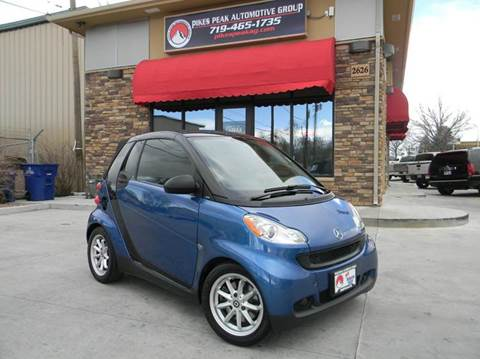 2009 Smart fortwo for sale in Colorado Springs, CO