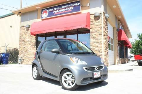 2014 Smart fortwo for sale in Colorado Springs, CO