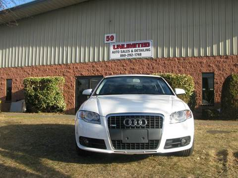 2008 Audi A4 for sale in Windsor Locks CT
