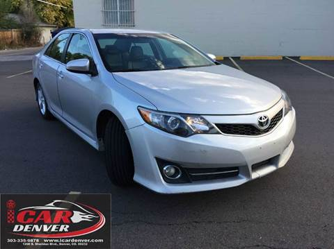2013 Toyota Camry for sale in Denver, CO