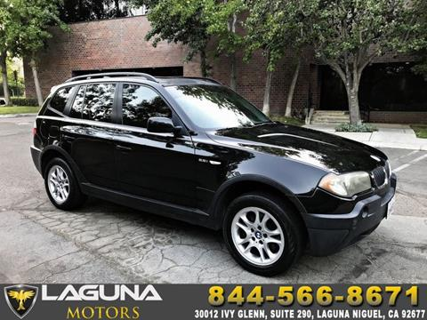 2004 BMW X3 for sale in Laguna Niguel, CA