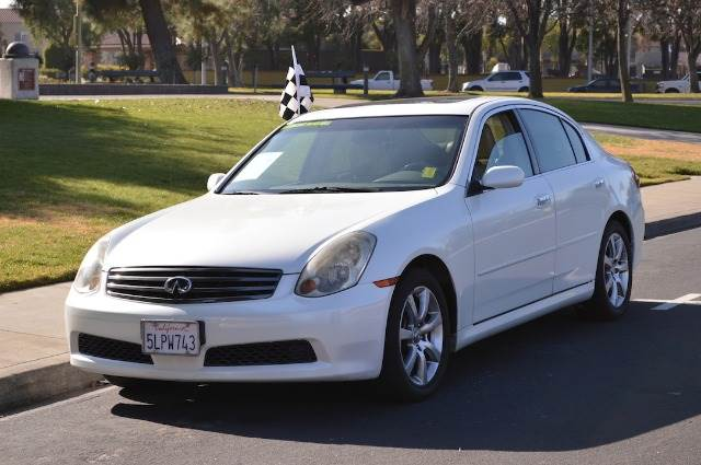 2005 infiniti g35 base rwd 4dr sedan in santa clara san. Black Bedroom Furniture Sets. Home Design Ideas