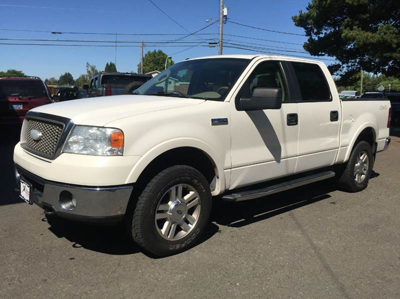 2007 ford f 150 lariat 4dr supercrew 4x4 styleside 5 5 ft sb in woodburn or xtreme truck sales. Black Bedroom Furniture Sets. Home Design Ideas
