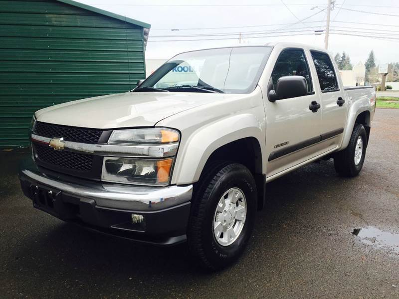 2004 chevrolet colorado z71 ls base 4dr crew cab 4wd sb in woodburn or xtreme truck sales. Black Bedroom Furniture Sets. Home Design Ideas