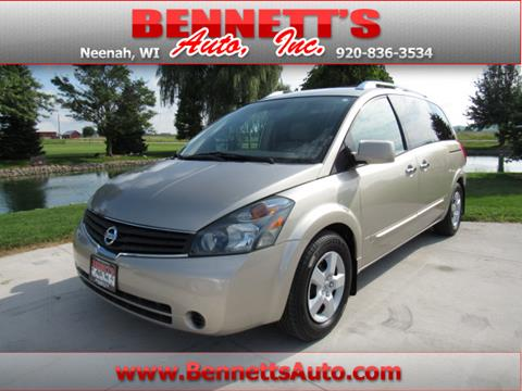 2007 Nissan Quest for sale in Neenah WI