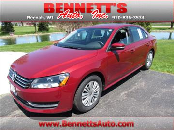 2015 Volkswagen Passat for sale in Neenah, WI