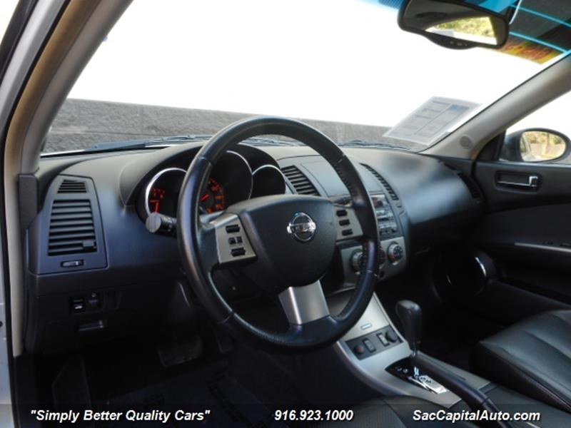 2006 Nissan Altima 3 5 Sl 4dr Sedan In Sacramento Ca Sac Capital