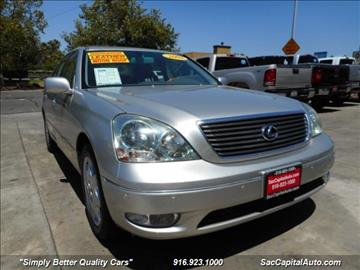 2003 Lexus LS 430 for sale in Sacramento, CA