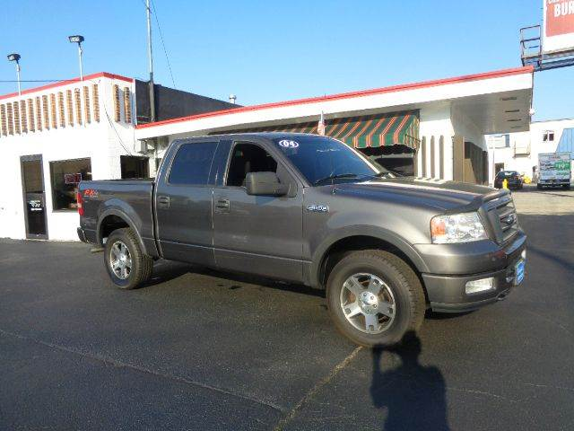 2004 ford f 150 4dr supercrew fx4 4wd styleside 5 5 ft sb for Budget motors of wisconsin