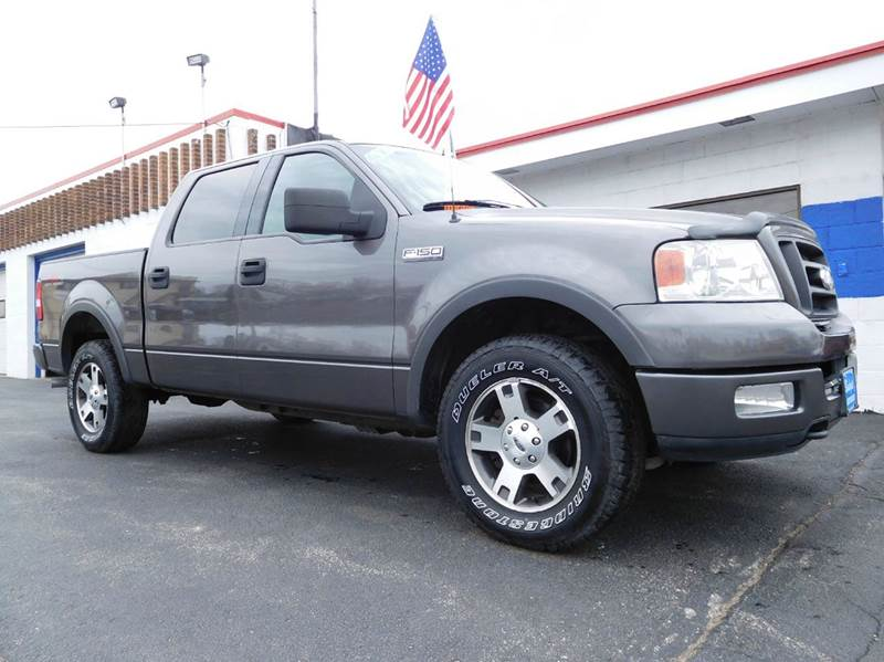 2004 Ford F-150 FX4 4dr SuperCrew 4WD Styleside 5.5 ft. SB ...