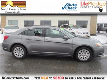 2012 Chrysler 200 for sale in Presque Isle, ME
