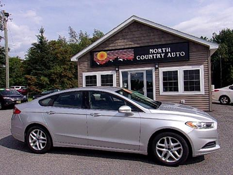 2013 Ford Fusion for sale in Lincoln, ME