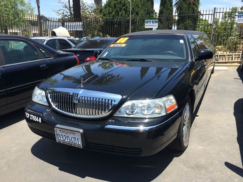 2008 lincoln town car executive for sale in los angeles ca cargurus. Black Bedroom Furniture Sets. Home Design Ideas