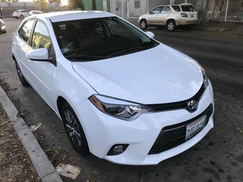 2016 Toyota Corolla for sale in Los Angeles, CA