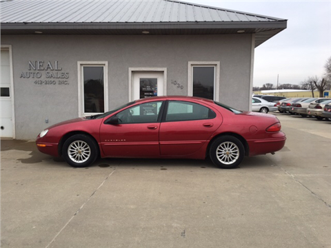 1998 chrysler concorde for sale in south sioux city ne. Cars Review. Best American Auto & Cars Review