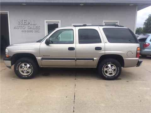 2002 Chevrolet Tahoe for sale in South Sioux City, NE
