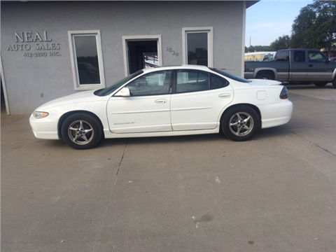 2002 Pontiac Grand Prix For Sale In South Sioux City NE