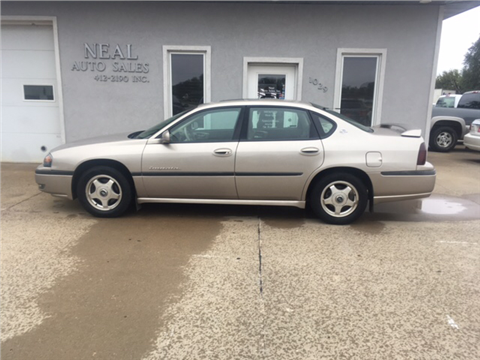 2001 Chevrolet Impala for sale in South Sioux City, NE