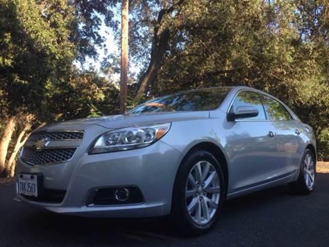 2013 Chevrolet Malibu for sale in Roseville CA