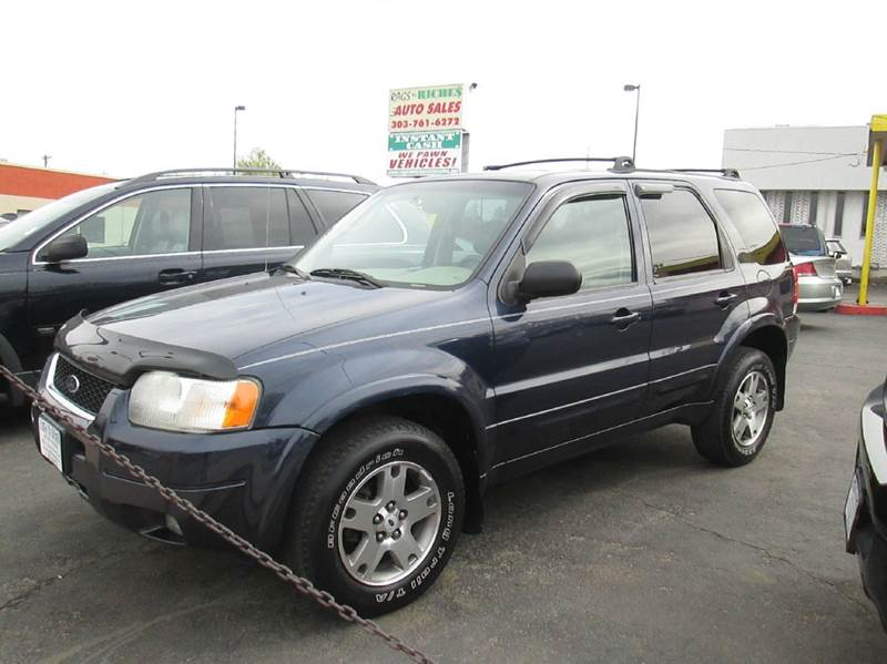 2003 Ford Escape Limited 4WD 4dr SUV - Englewood CO