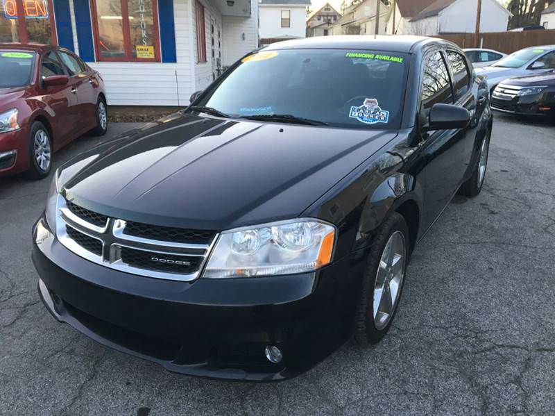 2011 dodge avenger lux 4dr sedan in fort wayne in