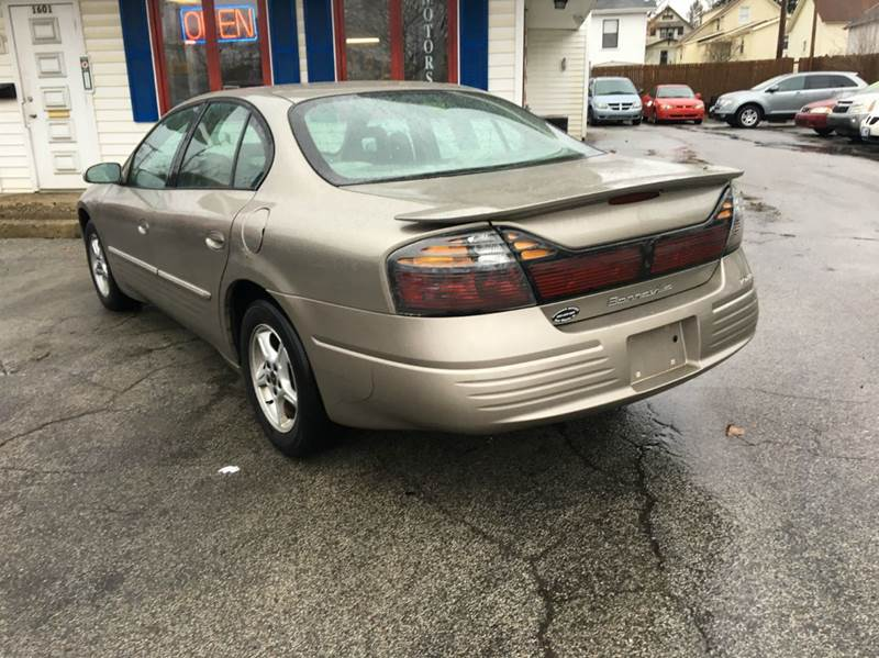2002 pontiac bonneville se 4dr sedan in fort wayne in