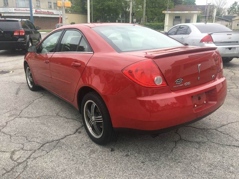 2007 Pontiac G6 4dr Sedan - Fort Wayne IN