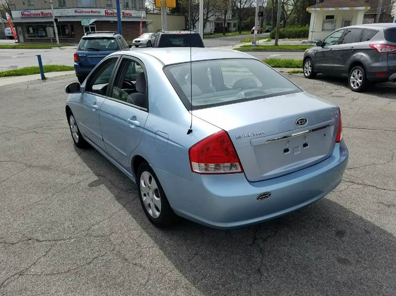 2007 Kia Spectra EX 4dr Sedan (2L I4 4A) - Fort Wayne IN