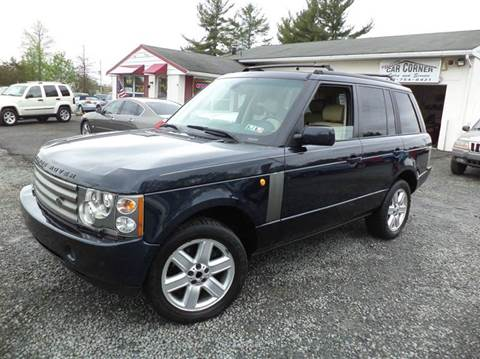 2003 Land Rover Range Rover for sale in Gilbertsville, PA