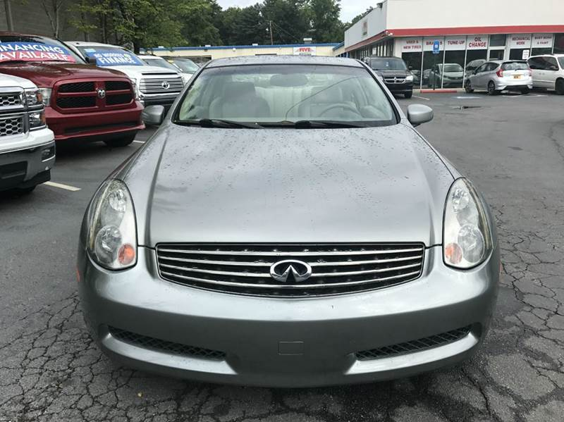 2004 Infiniti G35 Base RWD 2dr Coupe - Roswell GA