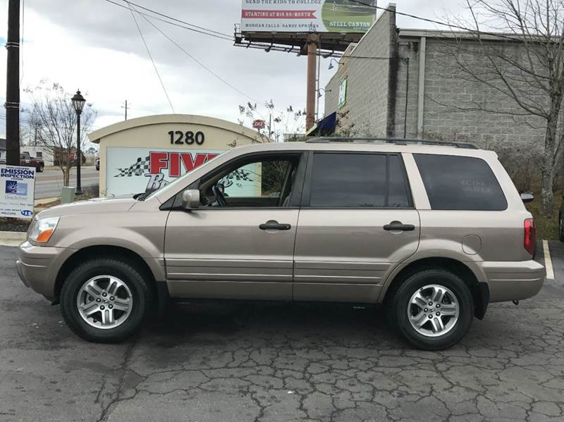 2003 Honda Pilot EX L 4dr 4WD SUV w/ Leather and Entertainment System - Roswell GA