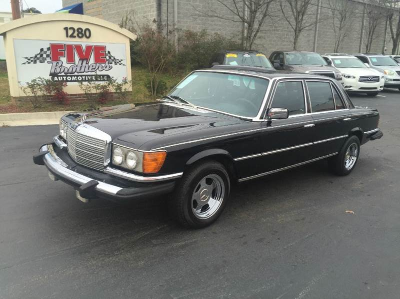 1976 mercedes benz 450 sle in roswell ga five brothers for Mercedes benz roswell ga