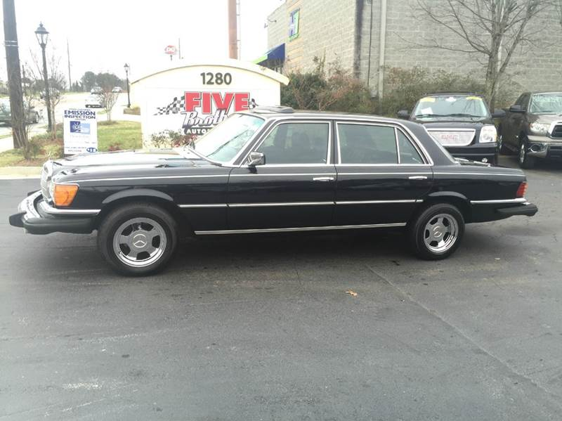 1976 mercedes benz 450 sle in roswell ga five brothers for Mercedes benz roswell