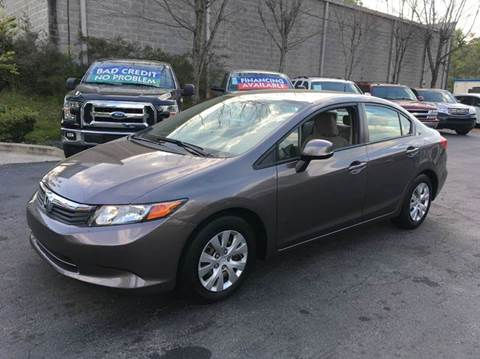 2012 Honda Civic for sale in Roswell, GA