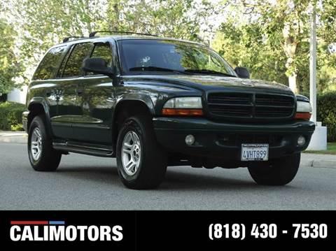 2001 Dodge Durango for sale in Panorama City, CA