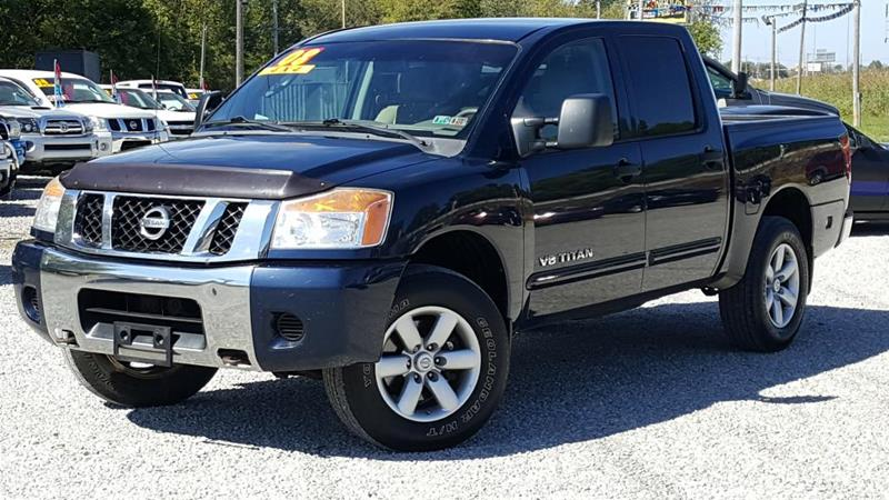 used 2008 nissan titan for sale in ohio. Black Bedroom Furniture Sets. Home Design Ideas
