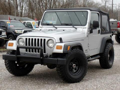 2004 Jeep Wrangler For Sale In Carroll, OH