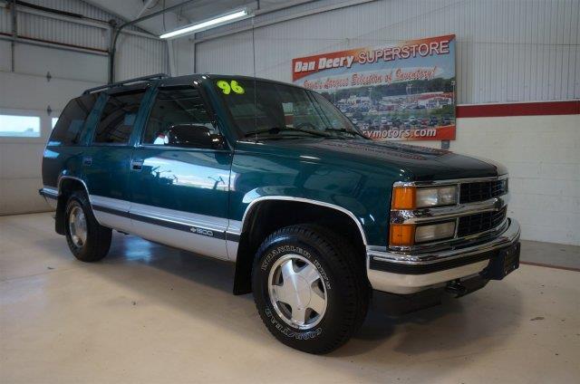 Used 1996 chevrolet tahoe for sale for Dan deery motors used cars