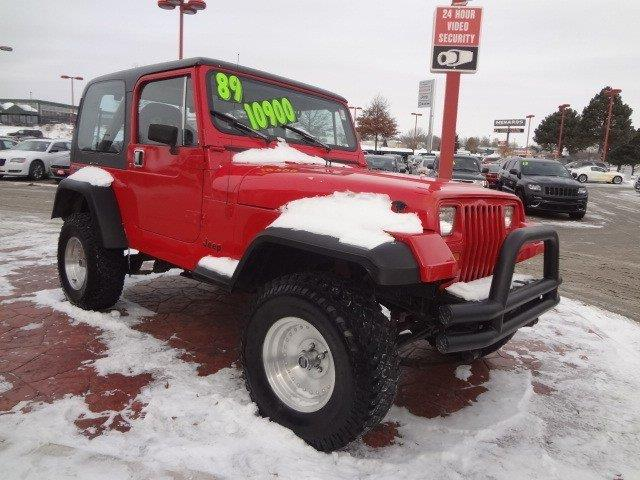 Used 1989 Jeep Wrangler For Sale