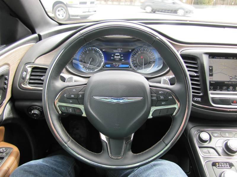 2016 Chrysler 200 C Platinum 4dr Sedan - Oakdale MN