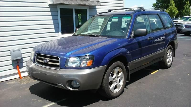 2003 Subaru Forester AWD XS 4dr Wagon - Lapeer MI